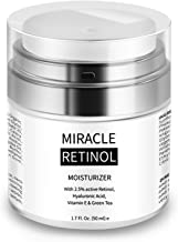 Retinol Cream for Face - Face Moisturizer for Anti Aging, Wrinkle & Acne Face Cream with Hyaluronic Acid Night Cream for A...