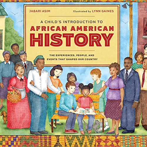 A Child's Introduction to African American History audiobook cover art