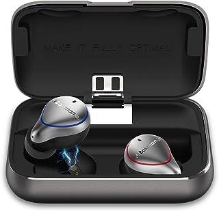 comprar comparacion bokman Auriculares Bluetooth, O5 Auriculares Inalámbricos Bluetooth 5.0 IPX7 Impermeable Cancelación de Ruido HiFi Mini Tw...