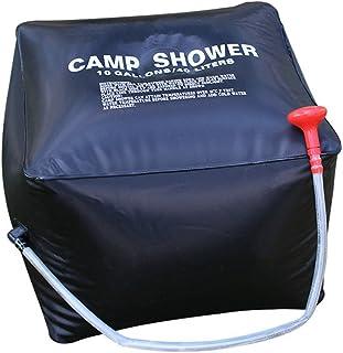 comprar comparacion CFtrum Bolsa Ducha Solar 40L PVC Plegable Portátil para Camping Excursión Al Aire Libre Color Negro