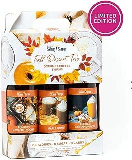 Jordan's Skinny Syrups Fall Dessert Trio: Pumpkin Cinnamon Roll, Maple Donut and Pumpkin Caramel Scone