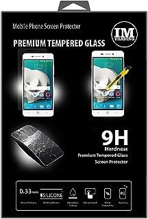 cofi1453 3X pansarskydd glas 9H härdat glas display skydd folie display glas skärmskydd kompatibel med ZTE Blade A452