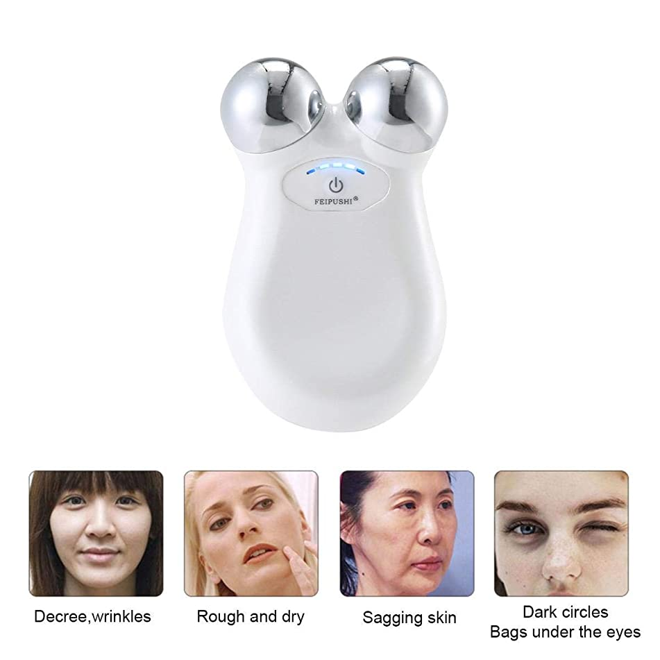 Energy Beauty Bar,Portable Galvanic Microcurrent Facial Machine Anti-aging and Skin Care,KOBWA Facial Massage Tool Skin Firming Face Lifting Facial Massager Electric for Sensitive Skin