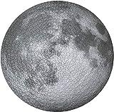 Jiahuade Puzzle Circular Luna,Rompecabezas Redondo 1000 Piezas,Puzzles Grandes,Puzzle Redondo 1000 Piezas,Puzzle Creativo,Puzzle Adultos 1000 Piezas,Juguete Educativo(Moon)
