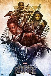 Grupo Erik Editores Poster Marvel Black Panther