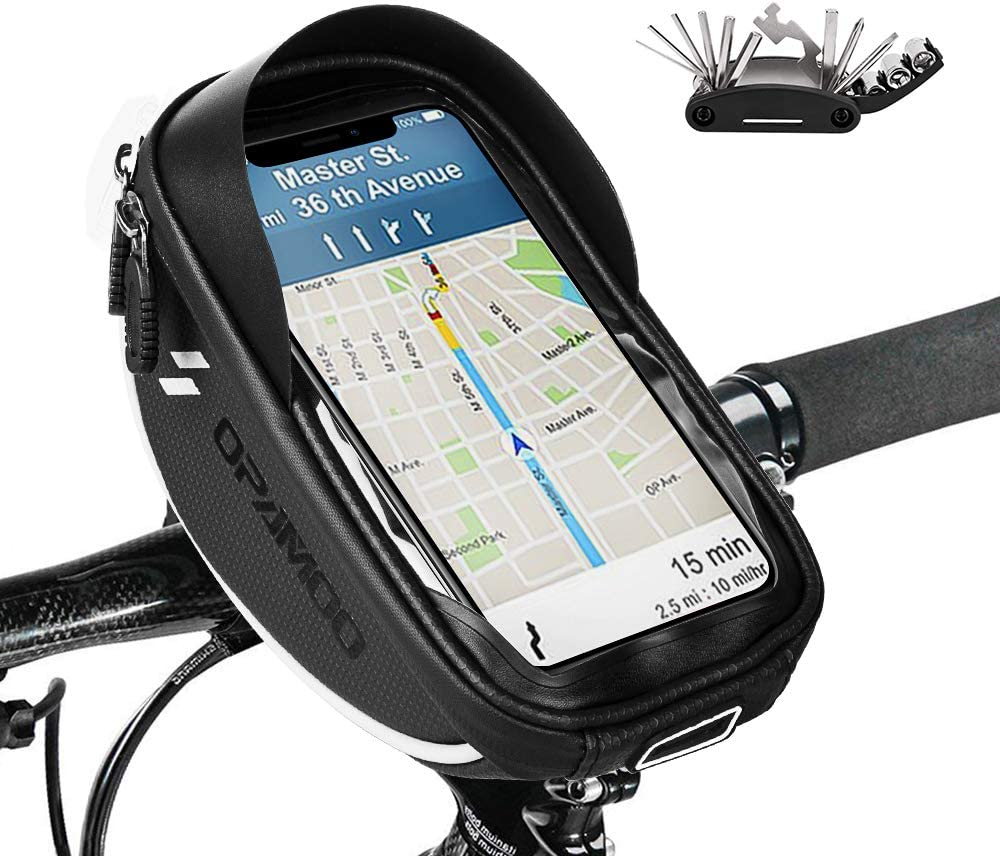 Bike Bicycle Phone Mount Bags - Waterproof Tube Frame Some reservation Ranking TOP8 Top Front
