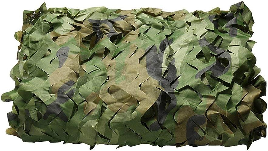 WNpb 2m × 3m Camouflage Chasse Net Armée Cachée Armée Militaire Camouflage Net Peut être Utilisé pour Le Soleil en Plein Air, Décoration de Fête (Taille   10m×20m)