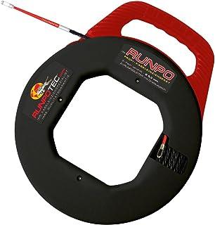 comprar comparacion Runpotec Runpo 10014 - Guía pasacables triple trenzado con carcasa, 5,3 mm (30m)