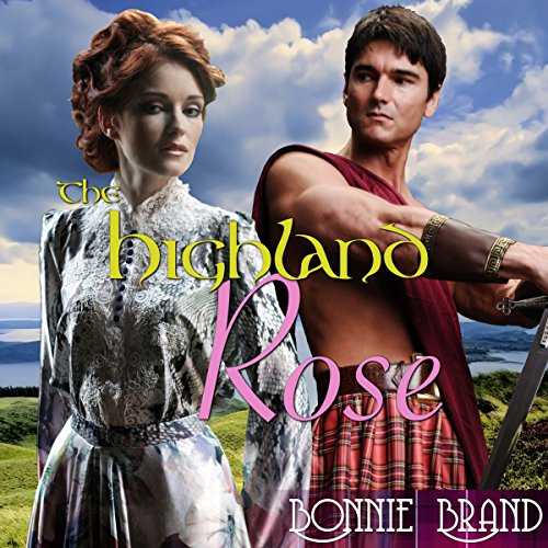 The Highland Rose audiobook cover art