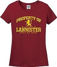 Property of House Lannister Lion Hear Me Roar GOT Ladies T-Shirt (S-3X)