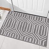 """Indoor Doormat, Front Back Door Mat Rubber Backing Non Slip Door Mats 20""""x31.5"""" Absorbent Resist Dirt Entrance..."""
