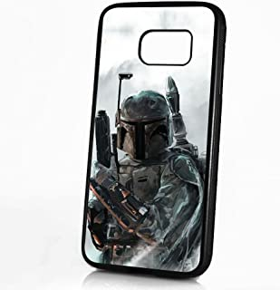 (for Samsung Galaxy S8) Durable Protective Soft Back Case Phone Cover - HOT30031 Starwars Boba Fett 30031