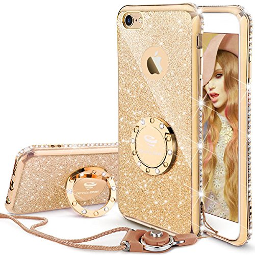 premium selection 8a616 cb139 iPhone 6 Plus Case with Ring: Amazon.co.uk