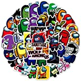 TUHAO Among Us Graffiti Hot Game Stickers For Kids Skateboard Car Luggage Laptop Waterproof Stickers Toys For Children 50Pcs