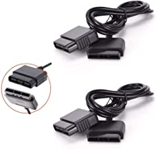 2 Packs Controller Extension Cable for Playstation PS1 PS2 Controller Eextension Cord