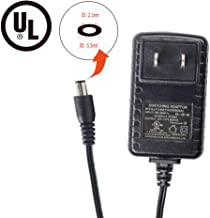 Alrolink 12 Volt 500mA Power Adapter Supply AC to DC 5.5mm x 2.1mm Plug 12v 0.5a Power Supply Wall Plug 4ft Cord for Security Cameras System CCTV Accessories