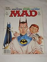 MAD Magazine #314 October 1992 Batman Returns The Olympics