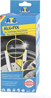 ATG ALU FIX Alu Felgen Reparaturset – Alufelgen schnell und einfach reparieren – inkl. Lackstift – 13tlg.