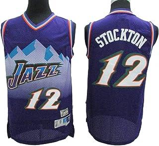 Haoshangzh55 Basket-Ball Maillots//Utah Jazz Jersey Suit La Formation Pull /À Capuche Pull Zipper V/êtements De Sport Casual,2XL