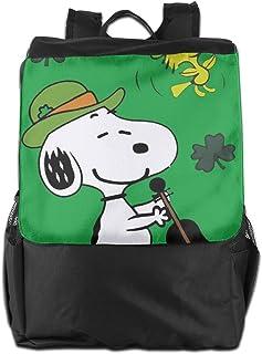 Mochila de viaje Snoopy para guitarra, ligera, de poliéster, bolsa de viaje para hombres y mujeres