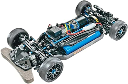 Hard Black TT-02 Lower Deck Chassis Tamiya TT02////TT-02B//TT-02D 54926