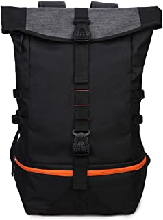Gym Backpack with Shoe Compartment, Large Luggage Travel Bag Fashion School Rucksack Hiking Backpack