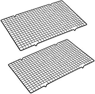 "【2-Pack】Cooling Racks Baking Rack -Stainless Steel Cooling Racks Baking Rack - 16"" x 10"" Set of 2 - Oven Safe Wire Racks F..."