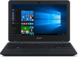 Acer TravelMate 11.6-inch Laptop PC with Windows 10 Professional , Intel Celeron N3050, 4GB RAM, 64GB eMMC, Wifi, Bluetooth (Renewed)