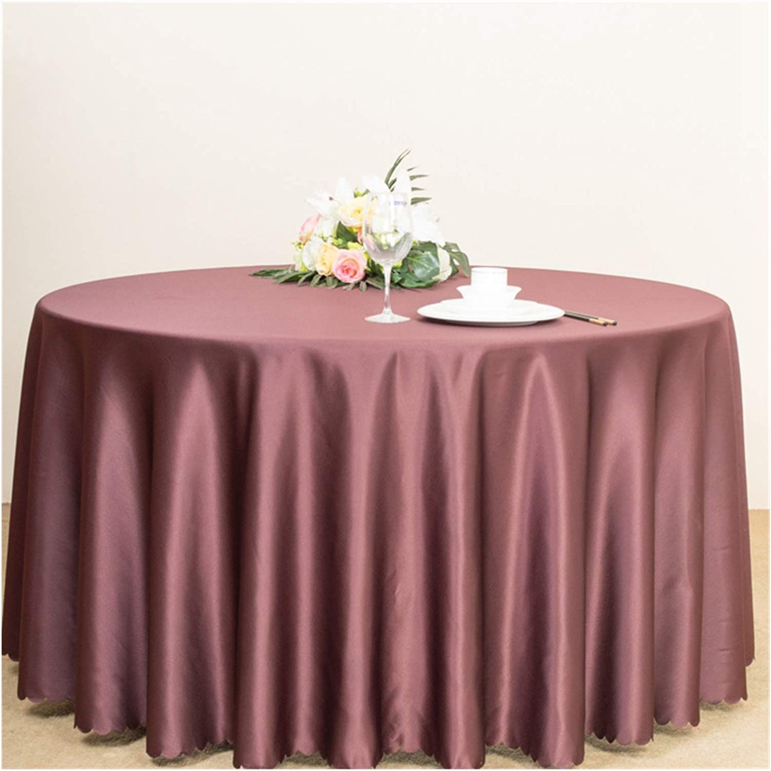 Tablecloth Round Tablecloth,Solid Color Cheap Special price for a limited time Hot Coffee Cloth Table