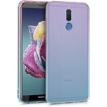 kwmobile 対応: Huawei Mate 10 Lite ケース - シリコン スマホカバー カラーで遊ぶ 携帯 保護 ツートーンデザイン