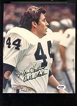 Marv Hubbard Oakland Raiders 8x10 Photo Photograph Picture Signed Autograph Auto PSA/DNA COA Football NFL