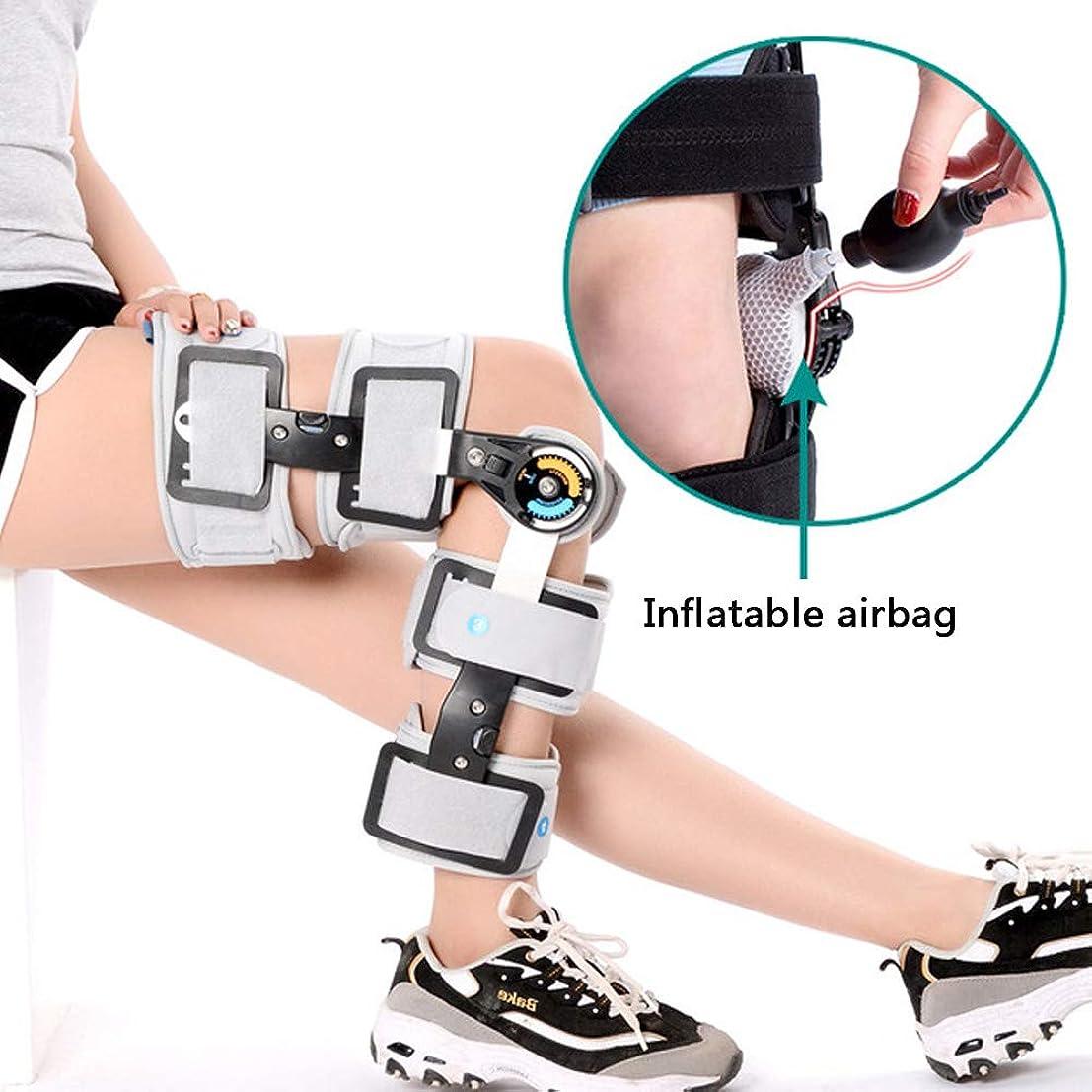 膨張する平らな危機膝関節サポート、調節可能な整形外科靭帯半月板骨折、下肢外科リハビリテーション