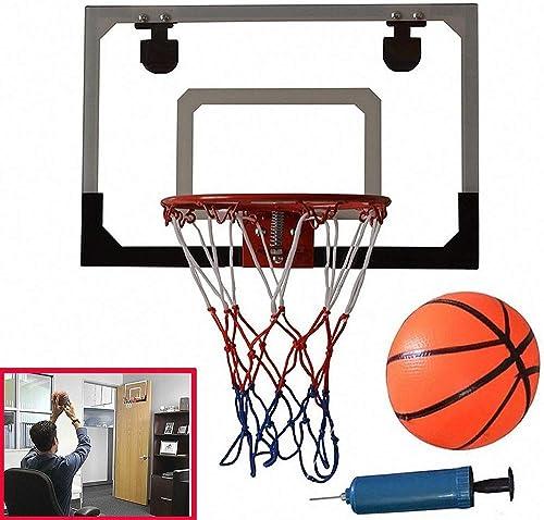venta caliente en línea Haol Mini Juguete de aro de Baloncesto, Canasta de de de la Puerta de la Oficina, Juego de aro de Baloncesto con Bola y Bomba para Niños de 45 x 30 cm  tienda