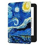 Huasiru Pintura Caso Funda para el Nuevo Kindle (10ª generación - Modelo 2019 - no es aplicable a Kindle Paperwhite o Kindle Oasis) Case Cover, Cielo Estrellado