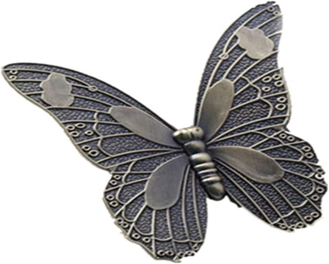 Butterfly  Vintage Bronze Dresser Knobs  Shabby Chic Knobs  Cabinet Knobs  Furniture Knobs  6 Colors to Choose  Customized