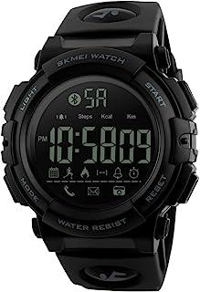 Men Sports Smart Bluetooth Watch Calories Pedometer Digital Watch for Smartphone