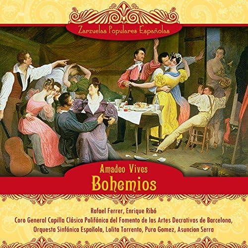 Rafael Ferrer, Enrique Ribó, Coro General Capilla Clásica Polifónica, Orquesta Sinfónica Española, Lolita Torrento & Pura Gomez