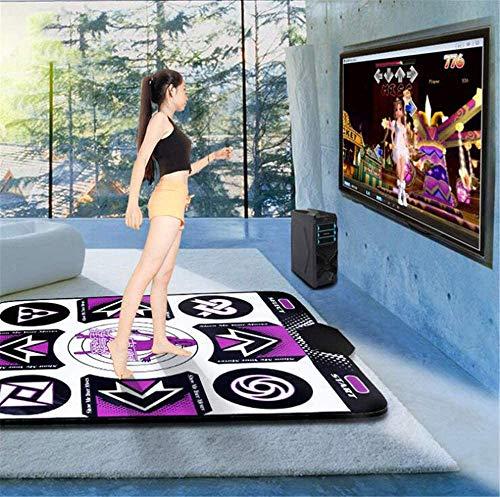XLBHSH Light Up Dance Mat - Dans Mat Non-Slip Dansende Deken Ritme En Beat Game Dansen Stap Pads Bedraad Afvallen Pads Danser Dedicated