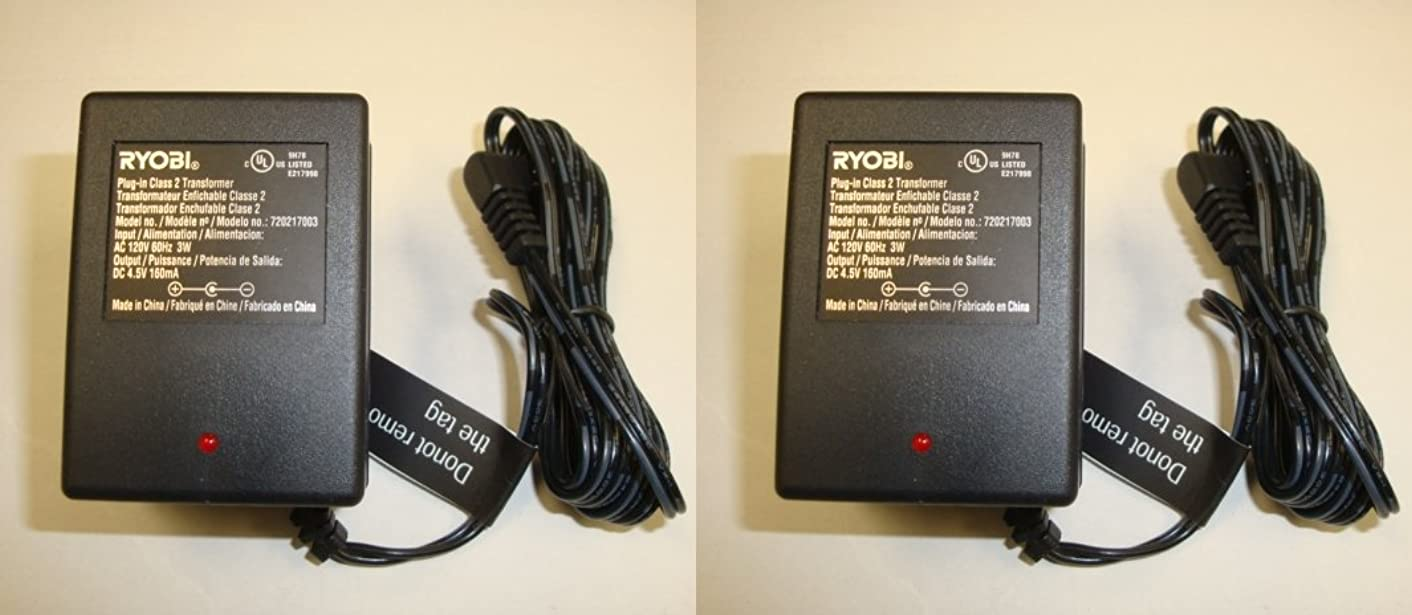 Ryobi HP41L 4V Lithium-ion Screwdriver Replacement Battery Charger (2-PACK) # 720217003-2PK