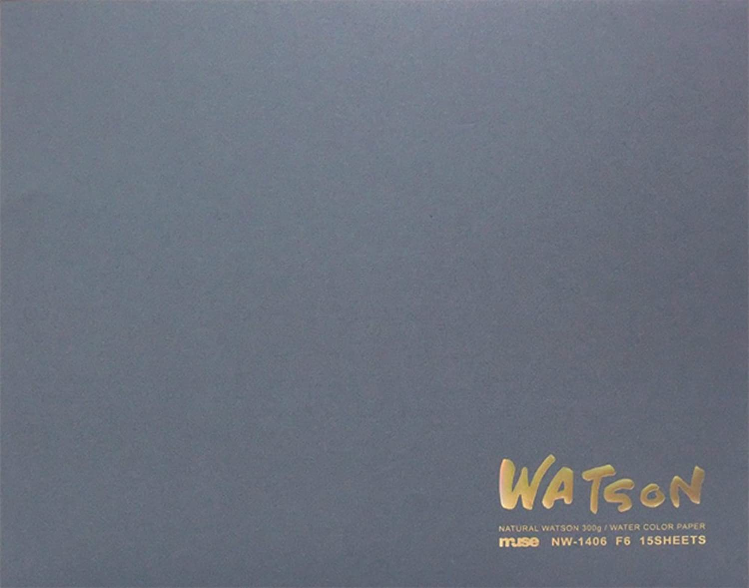 Muse watercolor paper Watson block F8 300g Natural 15 pieces NW-1408 F8