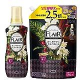 【Amazon.co.jp 限定】【まとめ買い】フレアフレグランス 柔軟剤 ヴェルベット&フラワーの香り 本体+詰め替え 1200ml
