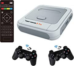 Super Console X PRO 256GB Retro Game Console Built-in 50,000+ Games,Dual Systems,Gaming Consoles for 4K TV HD Output,2 Con...