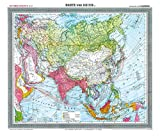 General-Karte von Asien - um 1903 [gerollt]: Carl Flemmings Generalkarten No. 37. - Harald Rockstuhl