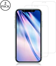 Screen Protector for iPhone 11 Pro Max/iPhone Xs Max, RUAN [2 Pack] Tempered Glass Film,HD Clarity,Case Friendly,Anti Scratch, Curved Edge, Touch Screen Tempered Glass Screen Protector