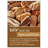 net-xpress Brot-Plakat für Bäckereiwerbung DIN A1,