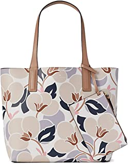 Kate Spade Arch Reversible Leather Tote Bag With Pouch