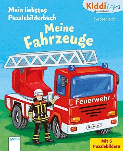 Meine Fahrzeuge: Kiddilight: Mein liebstes Puzzlebilderbuch