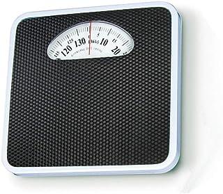 Báscula mecánica sin batería y botón, con báscula Saludable, báscula de baño, Plataforma Ultra Ancha con 136 kg de Gran Capacidad