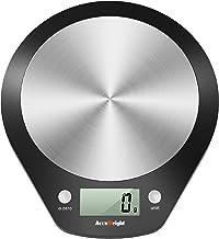 ACCUWEIGHT 203 Balance de Cuisine Numérique Balance Cuisine Électronique Balances de Cuisine avec Plate-Forme en Acier Ino...