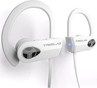 TREBLAB XR500 Bluetooth Headphones, Best Wireless Earbuds for Sports, Running or Gym Workout. IPX7 Waterproof, Sweatproof,...